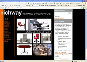 richway pre-owned office furniture of buffalo, ny - bestofwny