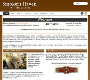 Smoker's Haven - Offering a wide variety of tobacco products to