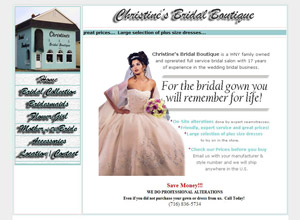 Buffalo Bridal Gowns Christines Bridal Boutique