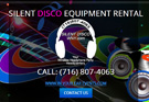 Silent Disco Wireless Headphone Rental
